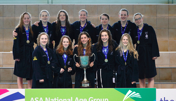The 2014/2015 Otter U/17s team with their successfully defended NAG Championship trophy.