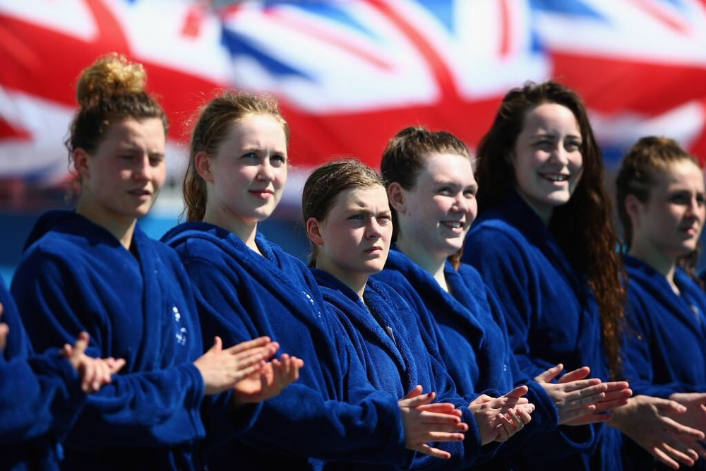 Kathy, Izzy & Mhairi line up for GB
