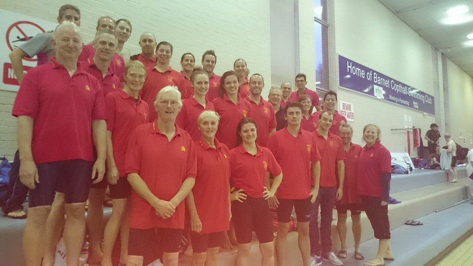 Middlesex 2015 Inter counties team