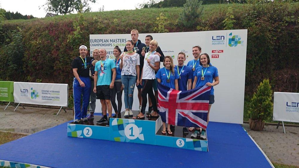 Otter Mixed Medley Team win bronze