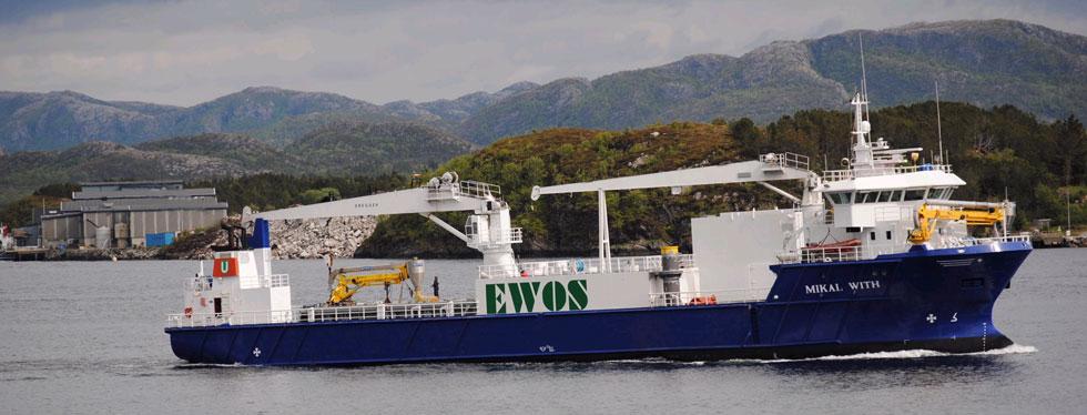 Mikal With  Ombygging fra cargo til bulk for fiskefor, forlengelse 12 m, alle stål og klassetegninger, stabilitet med kornstabilitet og kranfundament.