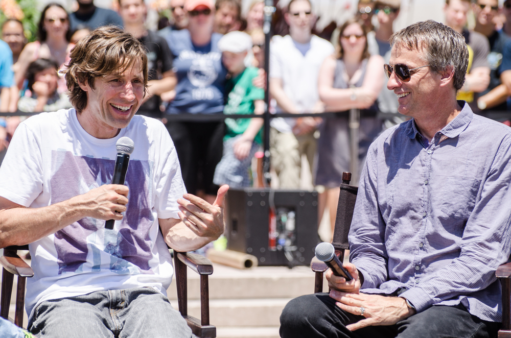 Innoskate 2013, Rodney Mullen and Tony Hawk, Smithsonian Institution