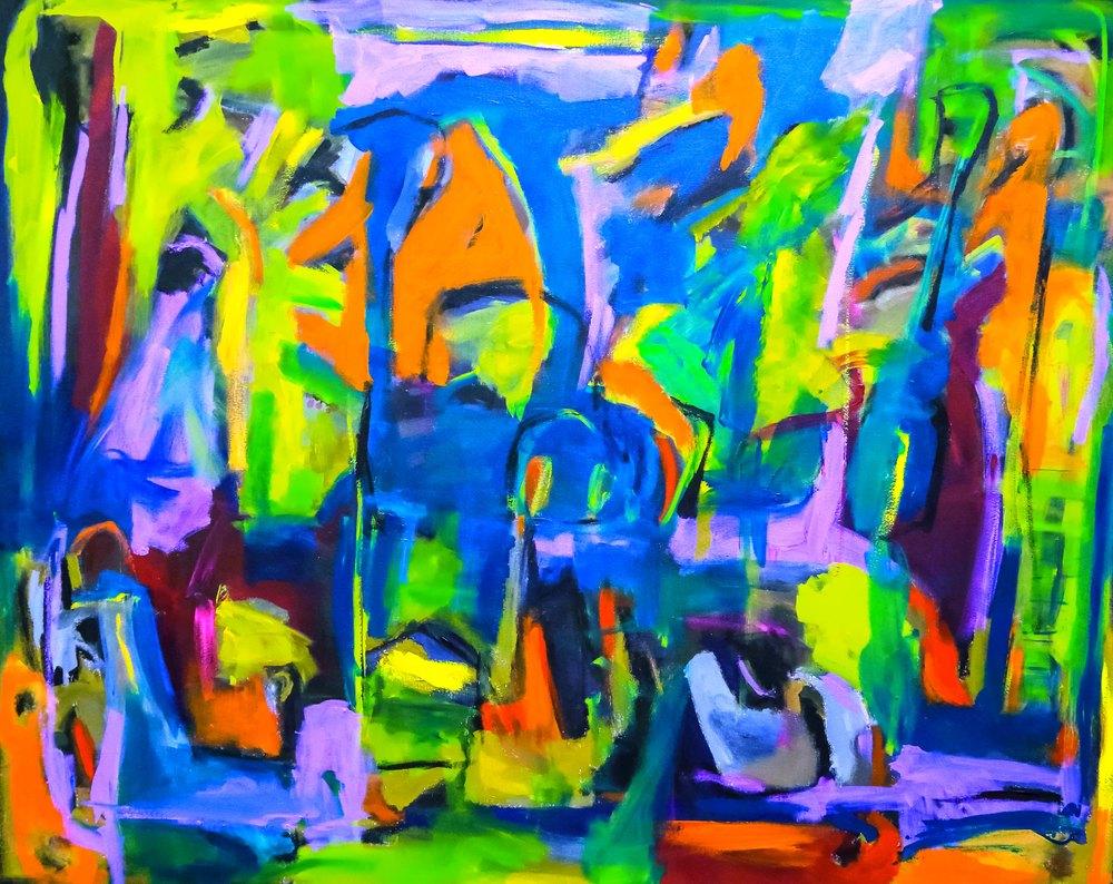 "Tinia Clark, ""Lost in Paradise,"" 2014"