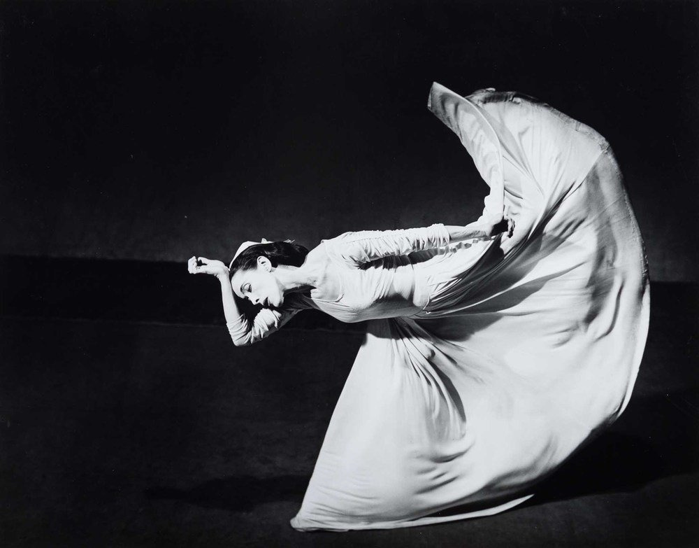 Barbara Morgan, Martha Graham, Letter to the World, 1940/1984, Gelatin silver print, Purchase by the Art Resource Trust, Polk Museum of Art Permanent Collection 2005.1.1 © Barbara Morgan, The Barbara Morgan Archive