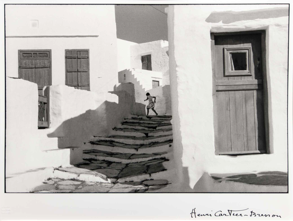 Henri Cartier-Bresson, Siphnos, Greece, 1961/1992, Gelatin silver print, Gift of Robert and Malena Puterbaugh, Polk Museum of Art Permanent Collection 2008.17