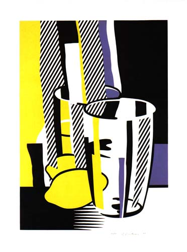 Roy Lichtenstein, Before the Mirror, 1975, Lithograph and screenprint with embossing on BFK Rives roll paper, Purchased from Hamilton Art Gallery, Allentown, PA through the Douglass Screen Printers Serigraphy Collection Fund, Polk Museum of Art Permanent Collection 2006.12