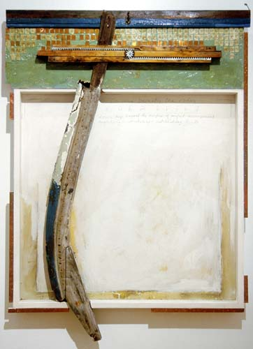Rocky Bridges, Submerged, 2001, Mixed media acrylic, Gift of Thomas J. and Laura A. Trask, Polk Museum of Art Permanent Collection 2005.12