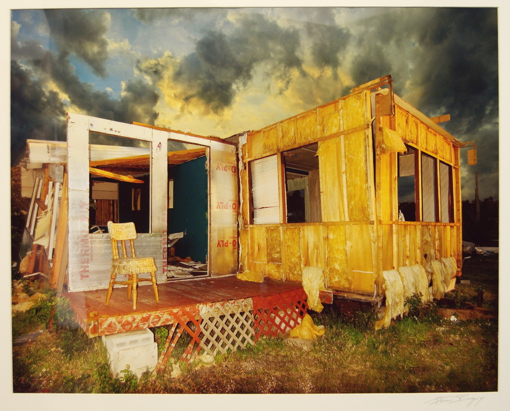 Steven S. Gregory, Back Porch, 2005, C-print (1/100), 2005 Mayfaire-by-the-Lake Purchase Award through the General Acquisition Fund, Polk Museum of Art Permanent Collection 2005.8.2