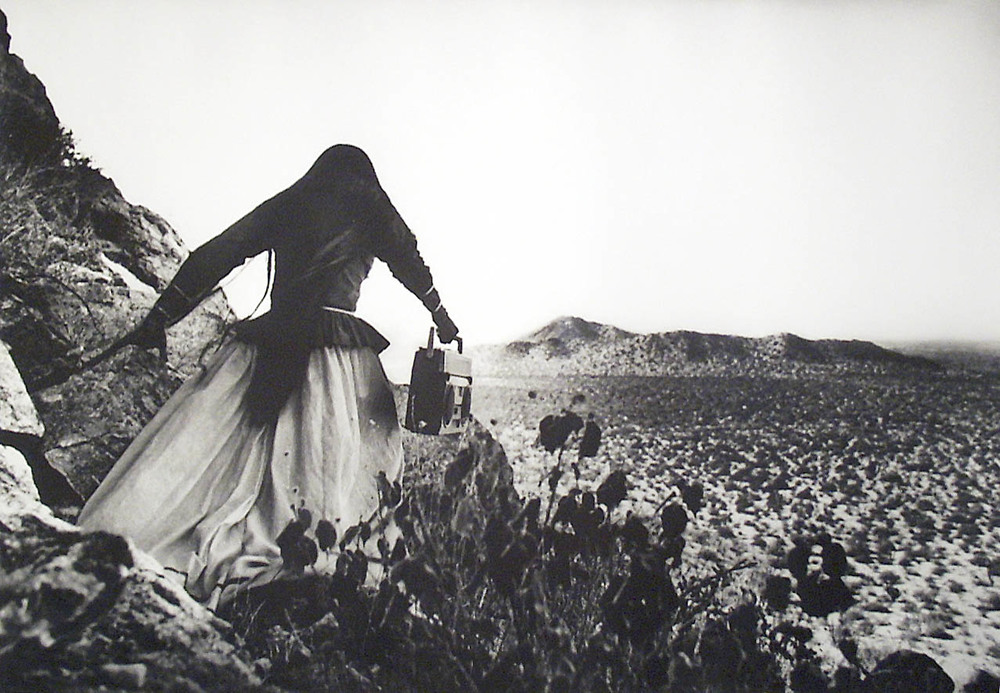 Graciela Iturbide, Mujer/Angel, 1996, Photography, Museum Purchase through the General Acquisition Fund, Polk Museum of Art Permanent Collection 1996.3