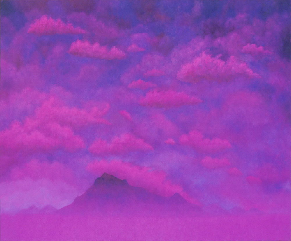 Paul Brach, Sky #4, 1992, Oil on canvas, Purchased through funds donated by Ben Heller, Polk Museum of Art Permanent Collection 2000. 20.2