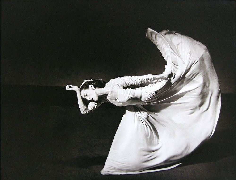 Barbara Morgan, Martha Graham, Letter to the World, 1940/1984, Gelatin silverprint, Purchased by the Art Resource Trust, Polk Museum of Art Permanent Collection 2005.1.1 © Barbara Morgan, The Barbara Morgan Archive.
