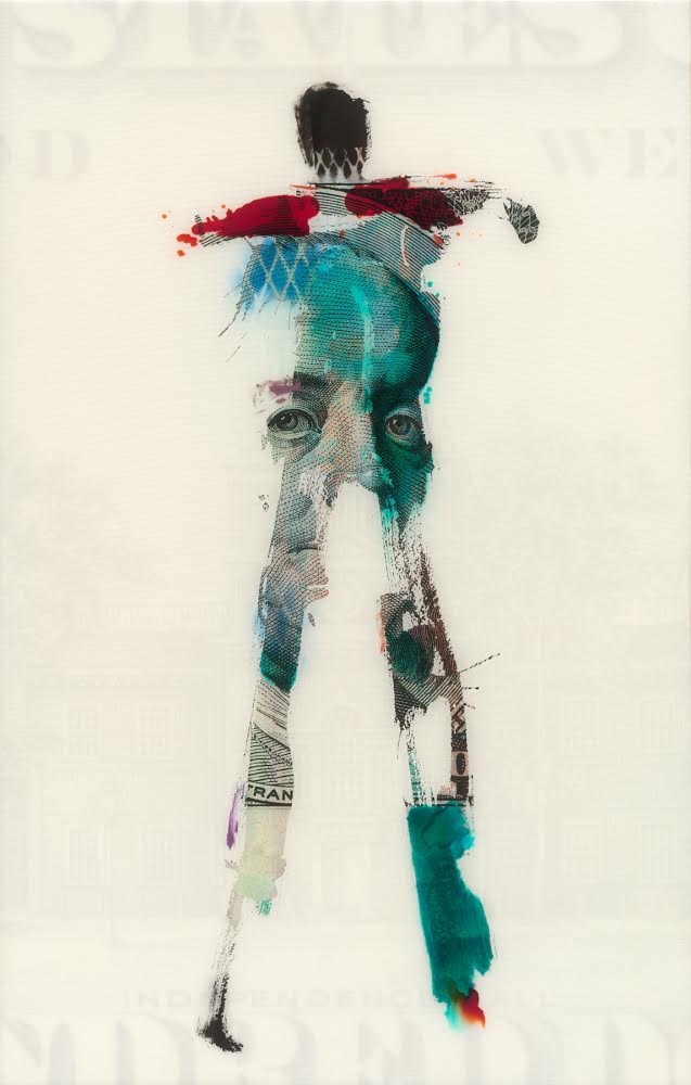 Jason Myers, In Whom We Trust, Mixed media and resin, Image courtesy of the artist