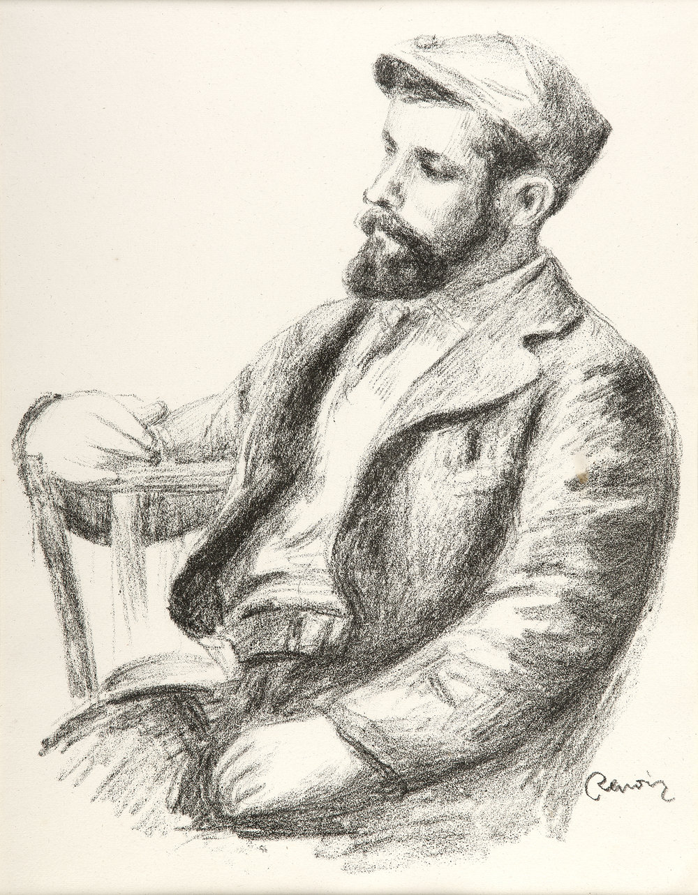 Pierre Auguste Renoir, Louis Valtat, 1904, Lithograph, 20.6 x 23.4 inches, Courtesy of The Art Company.