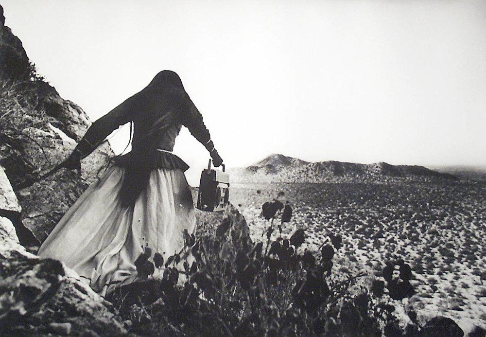 Graciela Iturbide,Mujer/Angel (Women/Angel), 1996, Photograuve.