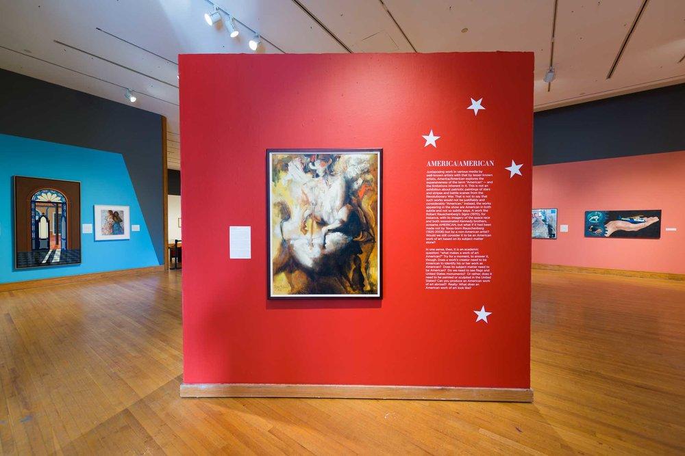 America|American exhibition, 2018