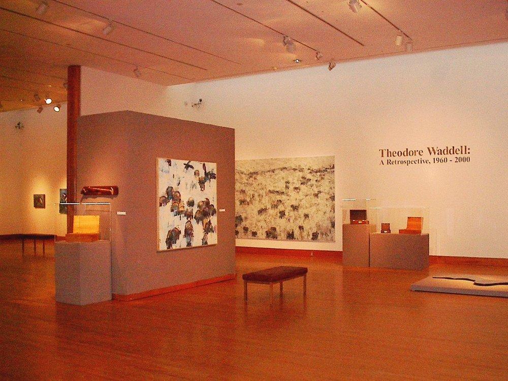 Theodore Waddell: A Retrospective, 2001.