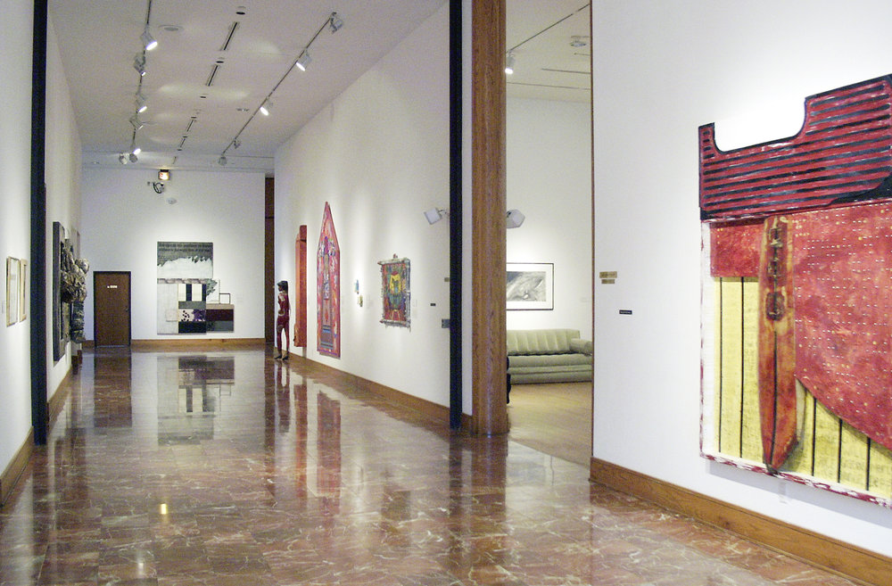 Defining Paintings: Mixed Media Works From the Permanent Collection,  2003.