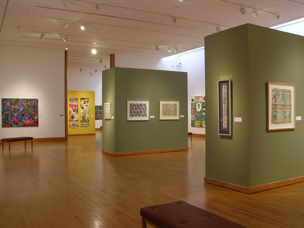 Beauty Overlooked: Pattern and Decoration Artworks From the Permanent Collection,  2005.