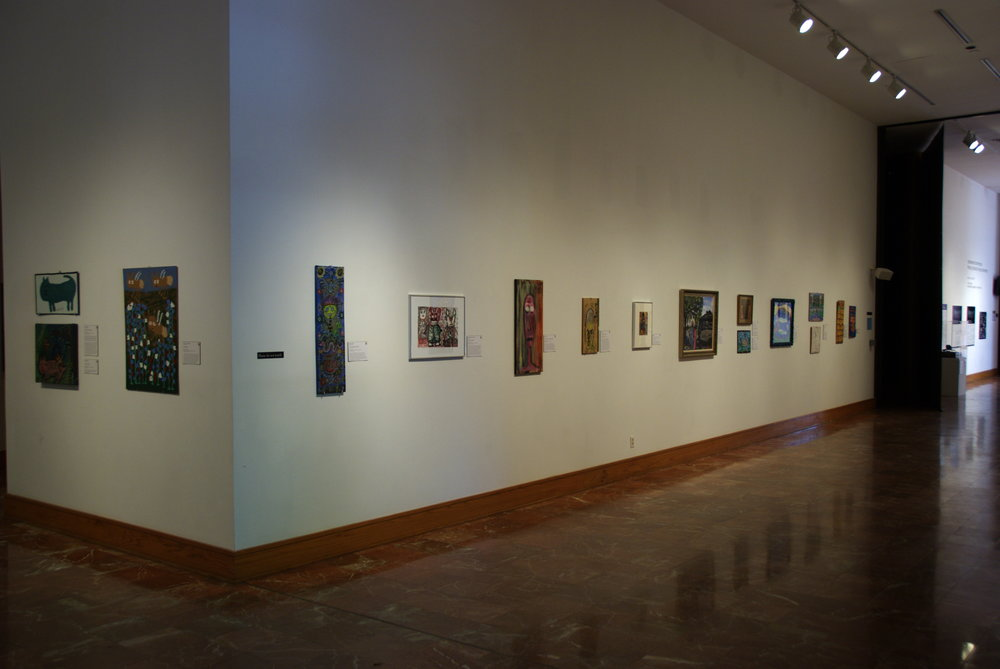 Unfiltered: Self Taught Artists From the Permanent Collection,  2009.