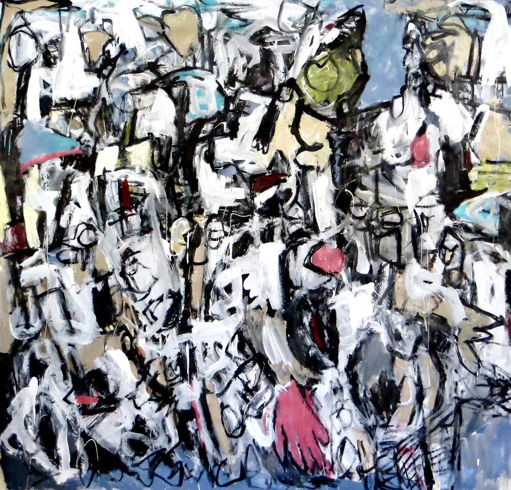 John Jacopelle,  Closeted,  Painting,   2018