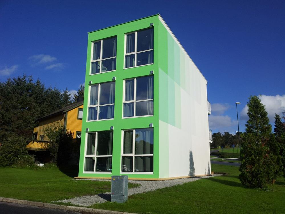 Første versjon av My Box studentbolig står allerede plasert på Ullandhaug, Stavanger.