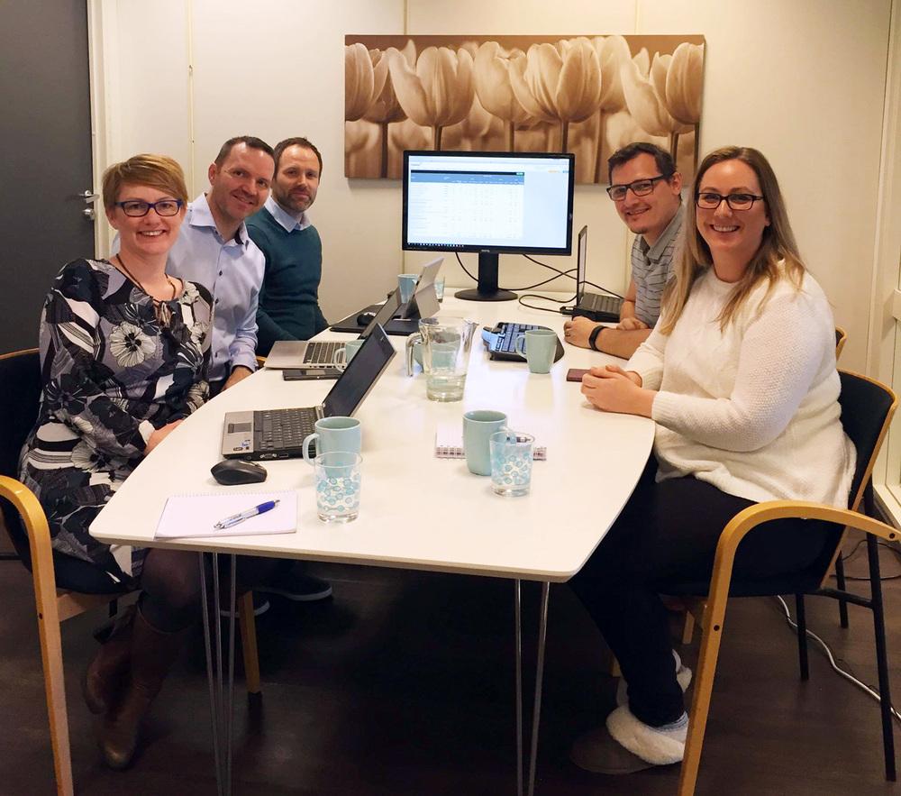 Kinevo AS var på besøk hos Sum Tønsberg for å snakke om prosjektverktøyet til Tripletex. Vi håper de fikk med seg masse gode tips og triks tilbake til Hammerfest!