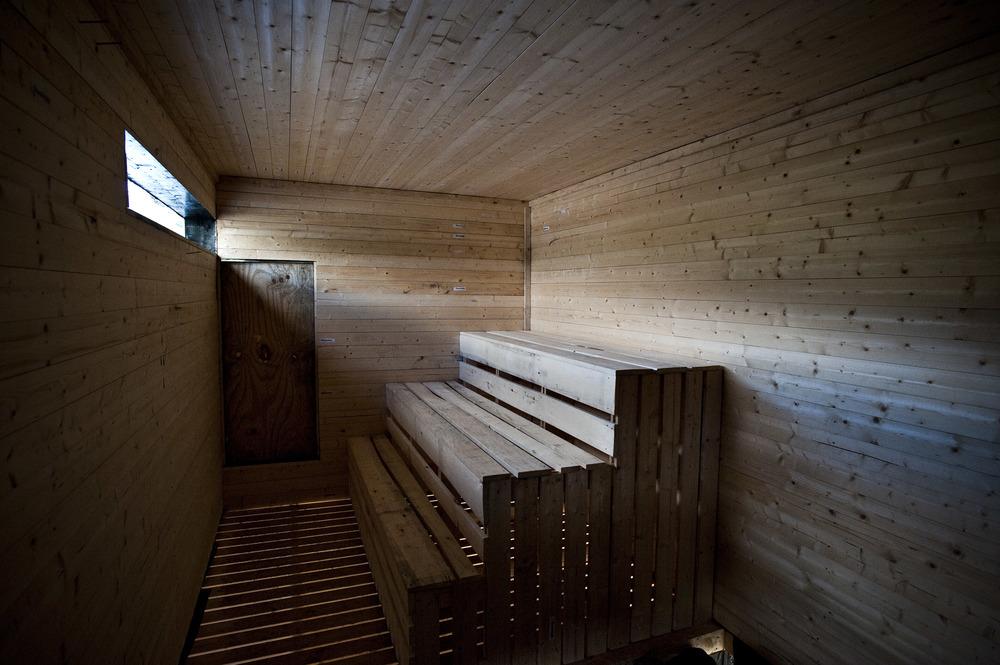 Workshop Sauna i Vedbekkdalen. Foto: Dag Jensen