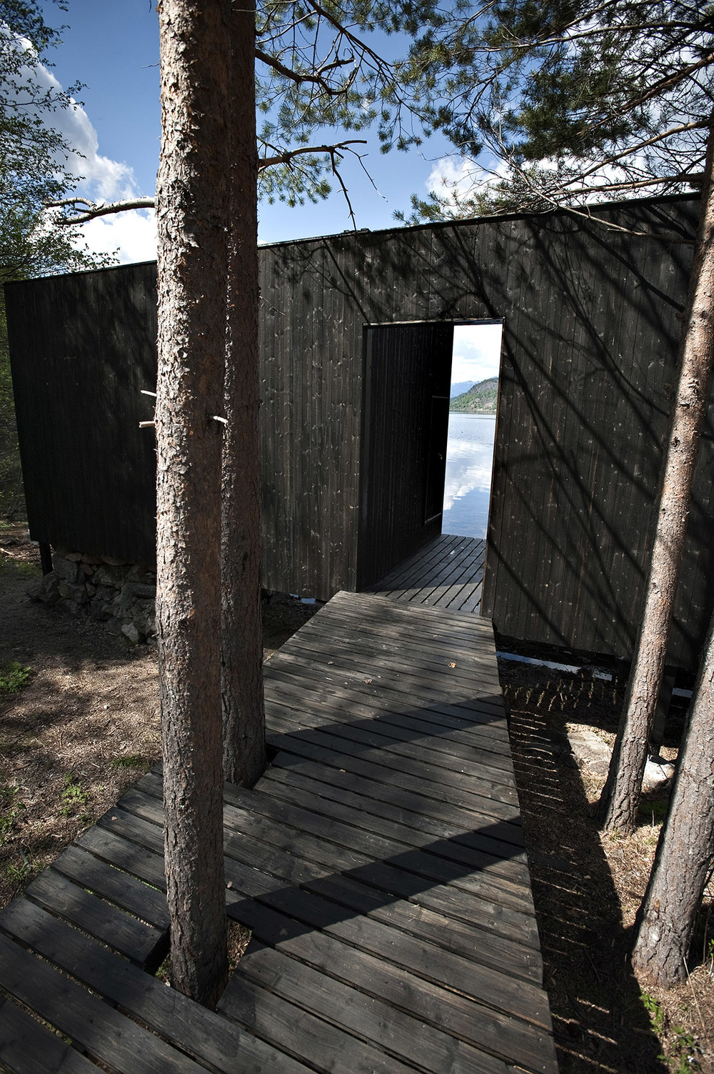 Sauna i Vedbekkdalen. Foto: Dag Jensen