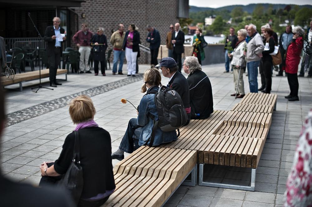 Åpning ved ordfører Beyer (foto Dag Jenssen)
