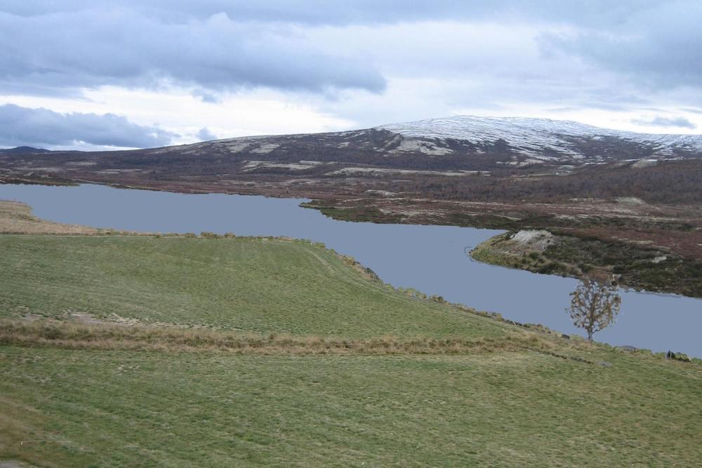 Mulig framtidig situasjon sett fra Romsdalssetrene.