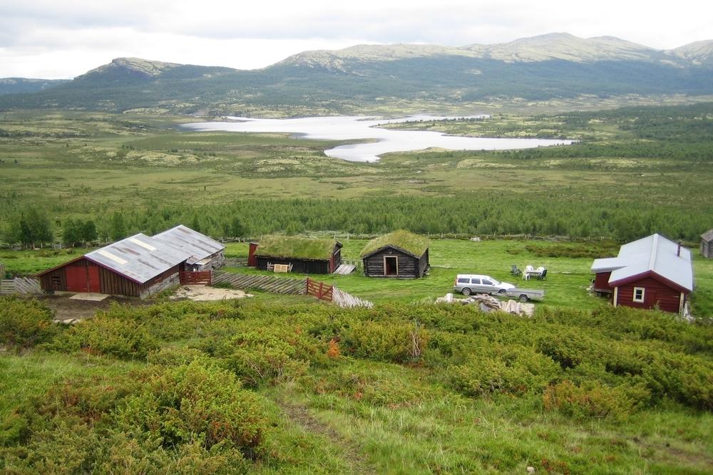 Markbulia og Einunndalen er en seterdal med mange aktive bruk.