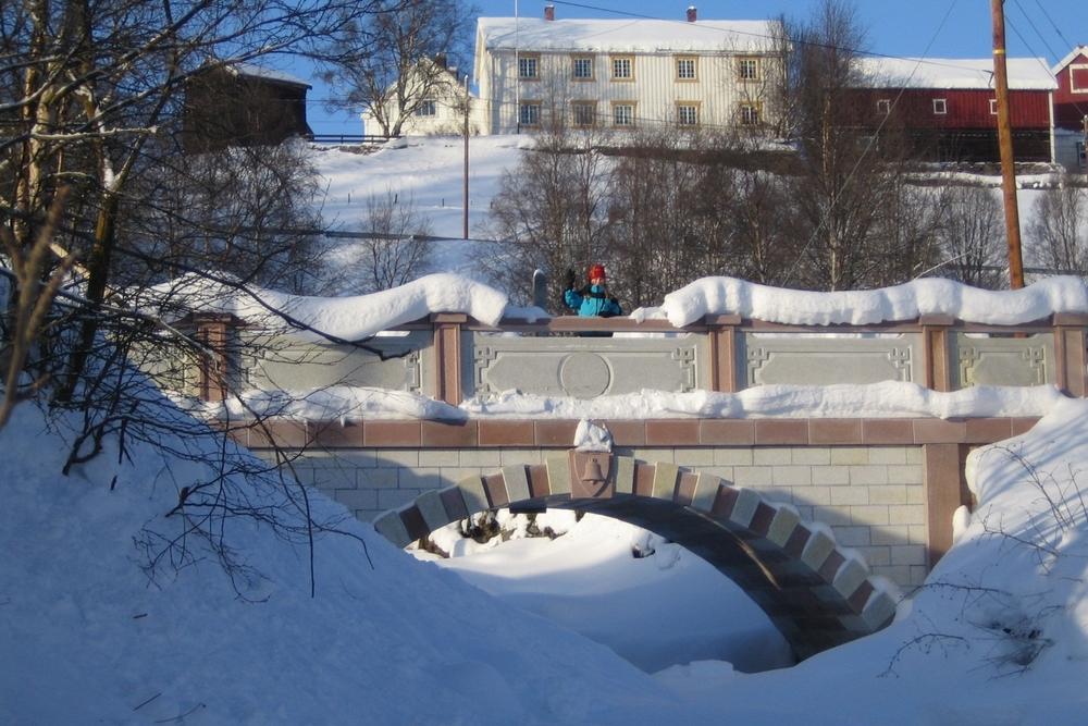 Snø skaper vakre vinterlandskap.