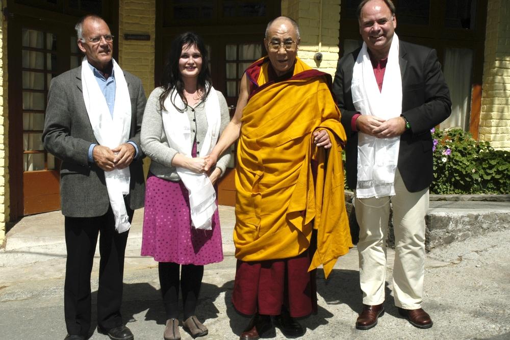 Og vi fikk møte Dhalai Lama!