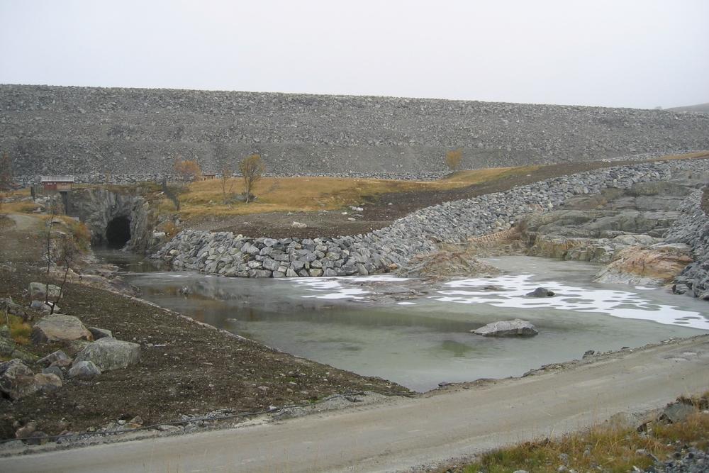 Flaumkanal og tunnel