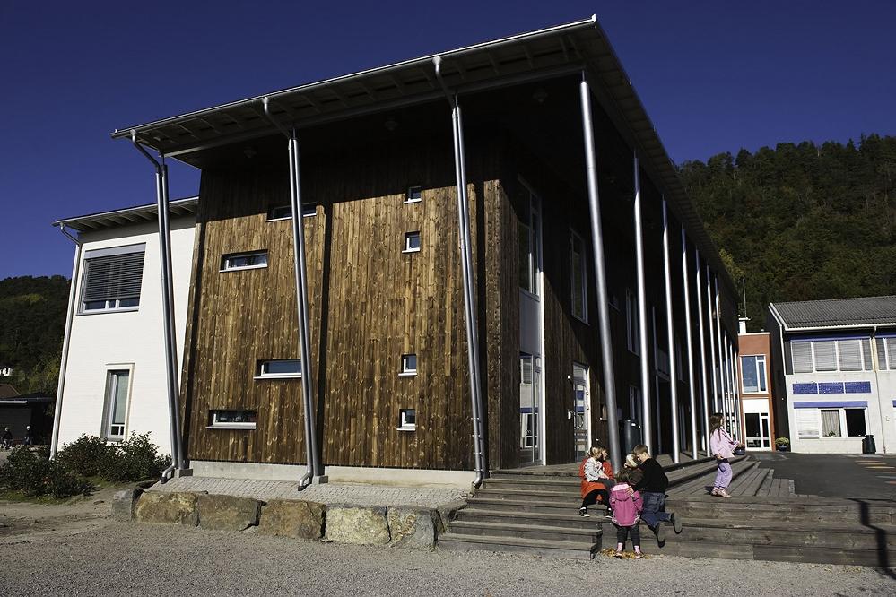 Fasader og trapper i kebony (foto: DAg Jenssen)