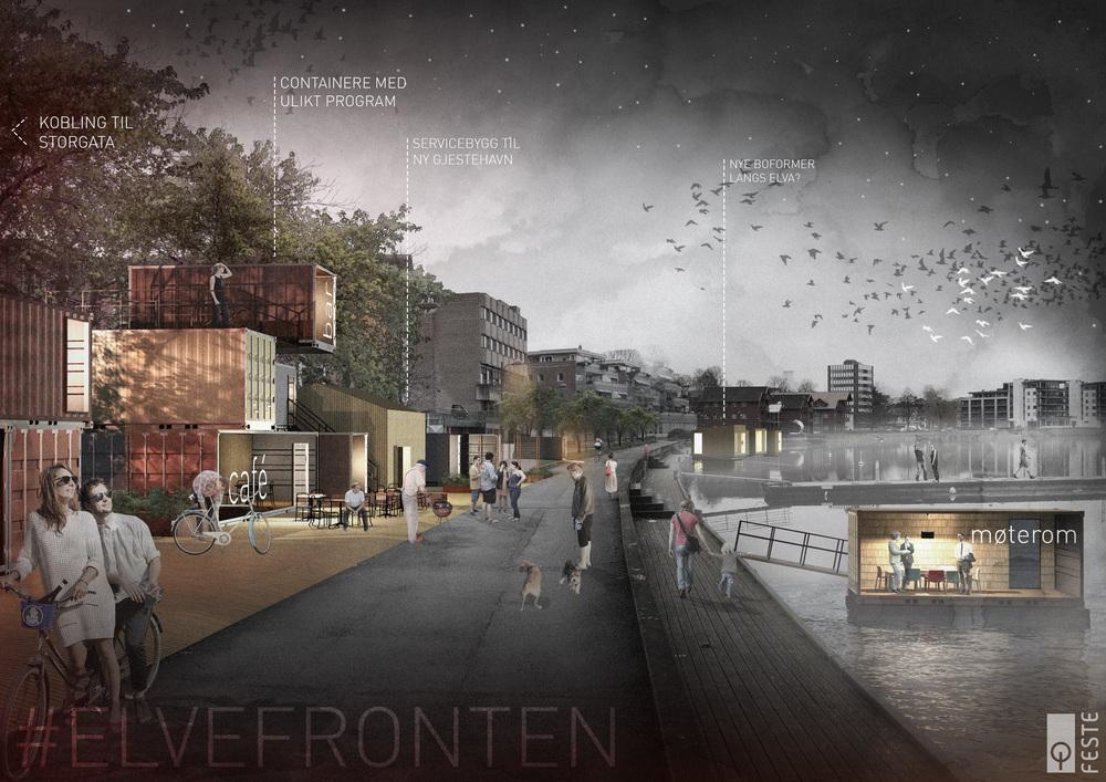 Illustrasjon Innbyrapport, av David Fjågesund
