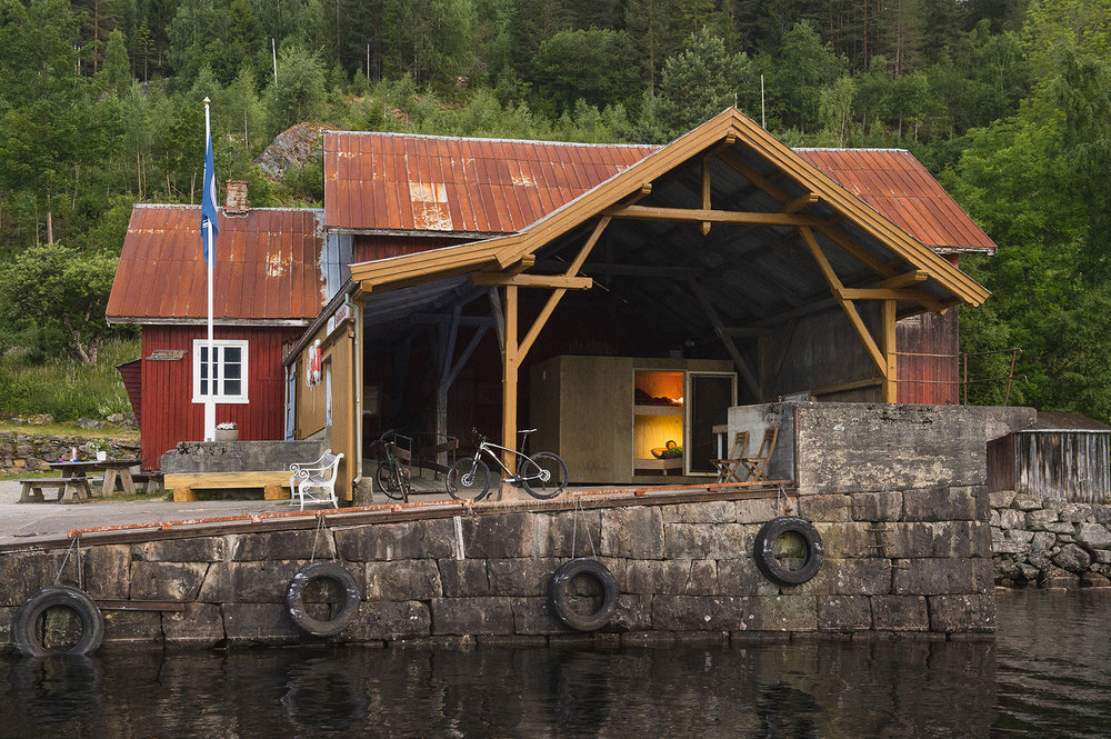Soveboksar - Telemarkskanalen