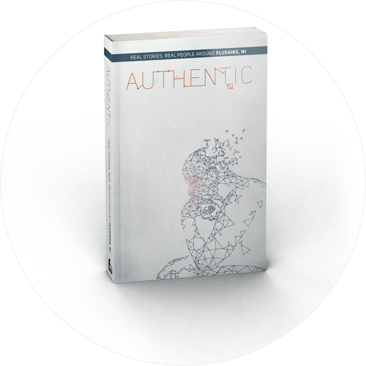 Read the Book Meet the People - Authentic is a book genuine testimonies by people from  FBC. This unique book is filled with real people from Flushing MI who found authentic life and real hope in a relationship with Jesus Christ.  Click HERE to support the Book