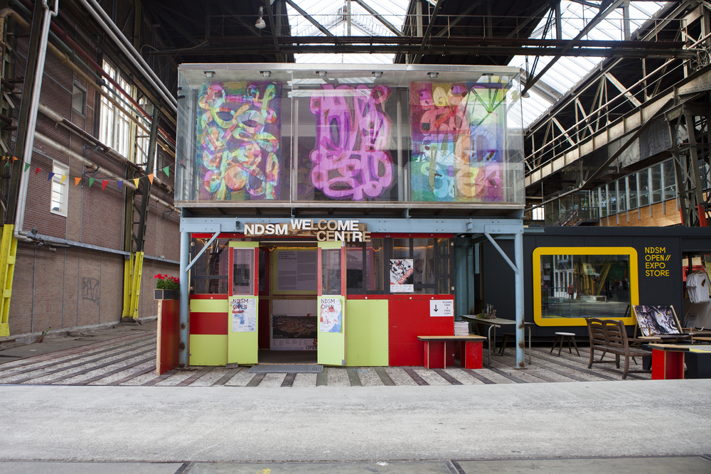 NDSM Selfmade City - Amsterdam