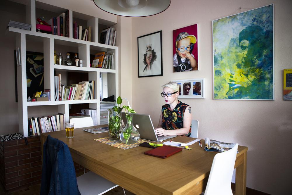 Mabi Barbas Antonia Magazine Director - Madrid