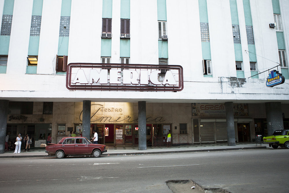 Teatro America    La Habana - Cuba