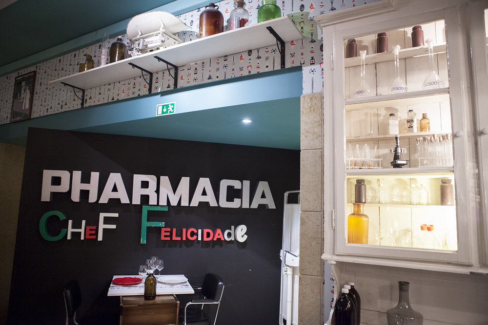 Pharmacy Restaurant    Lisbon