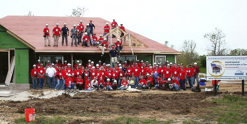 Daniel DeVol Builder - Homes for our Troops