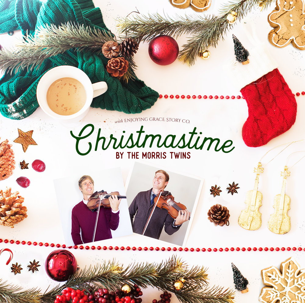 """CHRISTMASTIME"" Hardcopy CD $15 12 merry songs of the season to warm your heart and home! A collaboration with my twin brother, Daniel Morris Music, and Enjoying Grace Story Co."