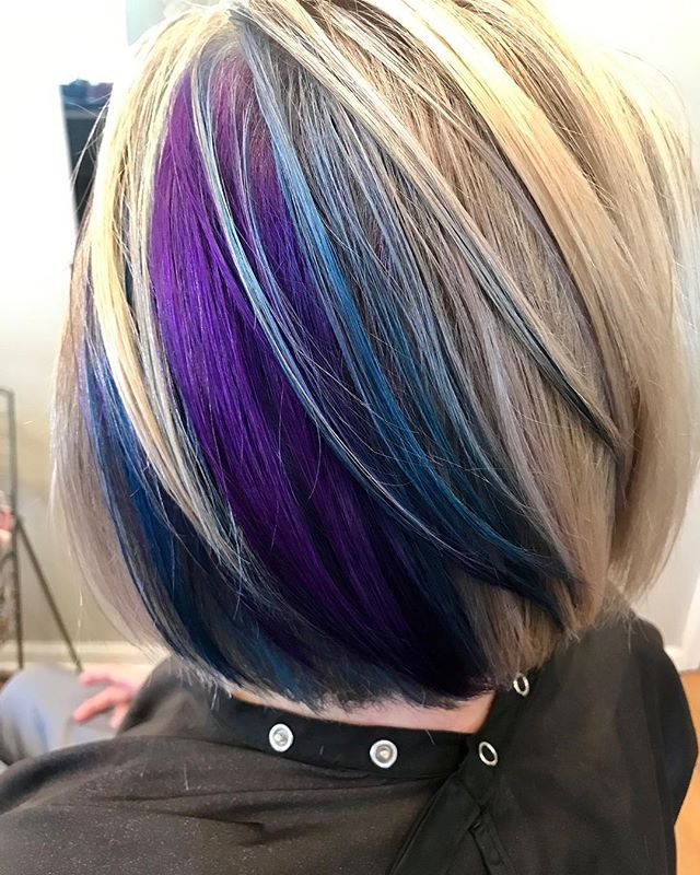 And the perfect pop of color for Spring // Hair by BRITTANY