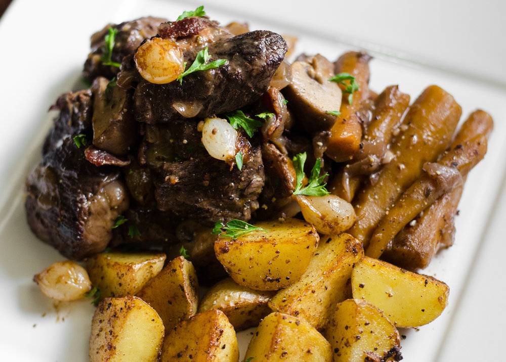 Beef Bourguignon recipe -