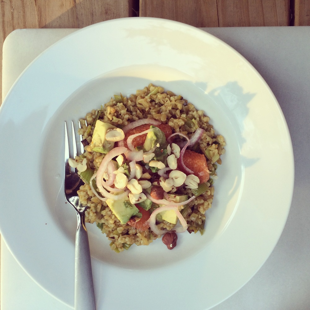 freekeh-orange-hazelnuts