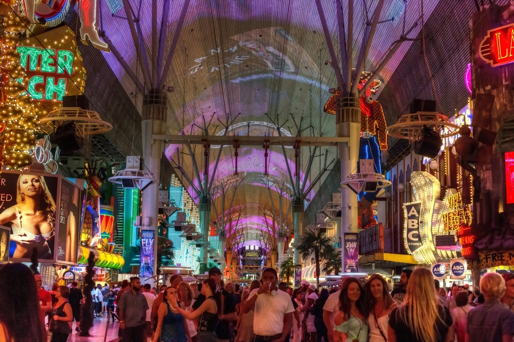 First Friday on Fremont Street
