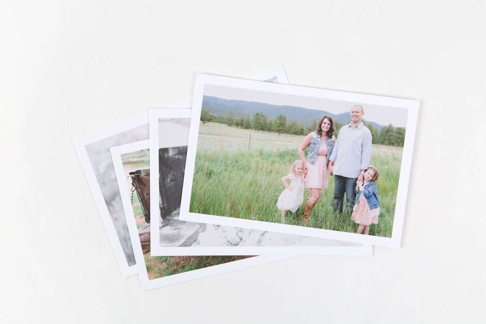 Boxed Prints - Sized for Print + USB Boxes, enjoy a collection of Prints on your choice of premium paper with an optional white border.Offered in E-Surface, Metallic, Fuji Deep Matte, Classic Felt, Linen or PearlAvailable in 4x6 or 5x7Starting at $2.50 each