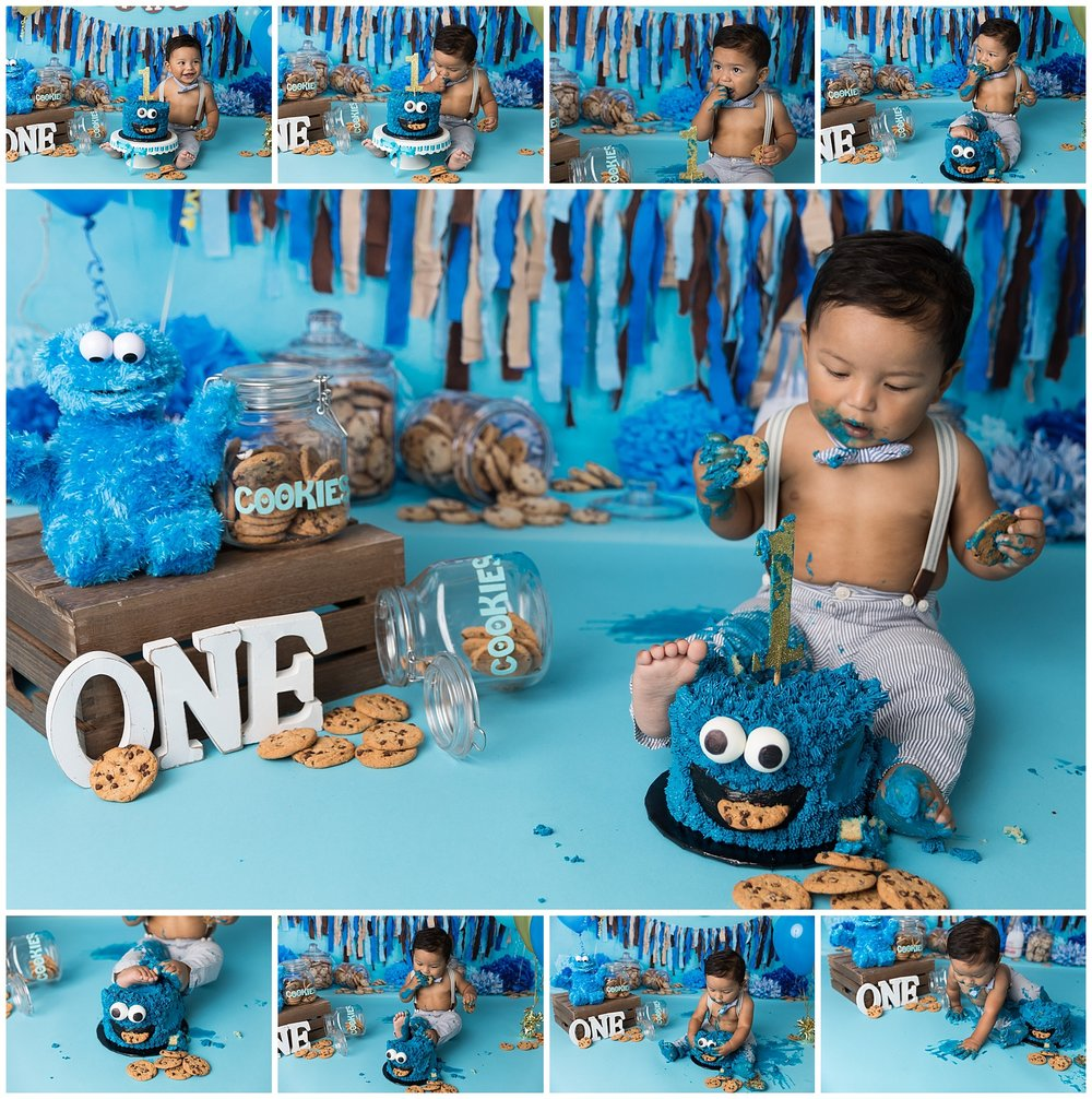messy_boy_cakesmash_cookiemonster